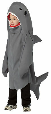 BABY SHARK COSTUME With Hood Humane Society Size 3-6 Months