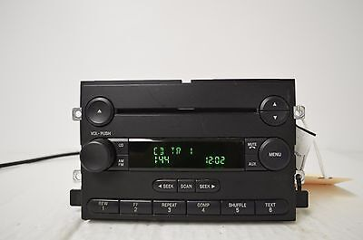 04-07 FORD F150 Truck Mustang Freestyle MERCURY Montego Radio CD PLAYER J1#015
