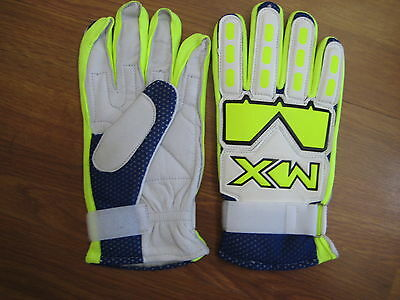 Mx  Brand Gloves - Brand New  - Yellow  - Medium