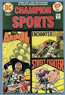 Champion Sports #2 1974 DC Comics