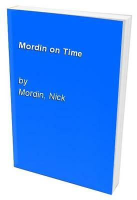 Mordin on Time by Mordin, Nick Paperback Book The Cheap Fast Free Post