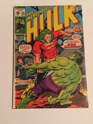 Incredible Hulk #141 1st app Doc Samson Marvel Comics 1970's FN