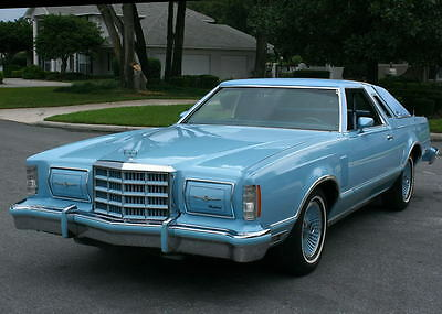 1979 Ford Thunderbird  BEAUTIFUL RARE SPECIAL EDITION -1979 Ford Thunderbird Heritage Coupe-38K ORIG MI