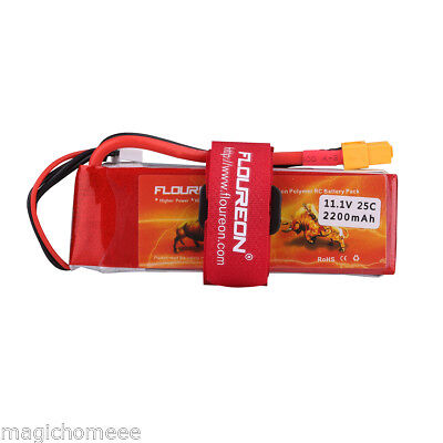 3S 2200mAh 11.1V 25C XT60 LiPo RC Battery for RC Car Truck Airplane Drone Boat