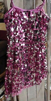 pink and silver dance, twirling, pageant costume Weissman
