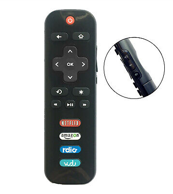 New RC280 LED HDTV Remote Control for TCL ROKU TV with Netflix Sling Hulu Vudu