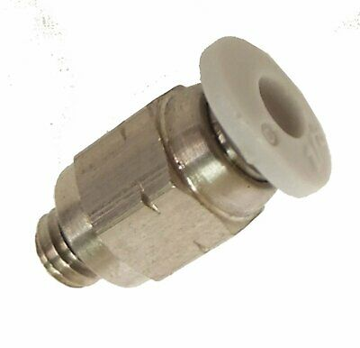 10-32 to 1-4 slip fit tube - FITT100 - Air Fitting