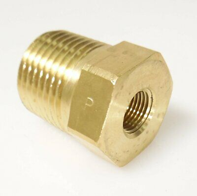 Male 320 CGA  to 1-8 NPT Female  Brass - FITT068 - Air Fitting