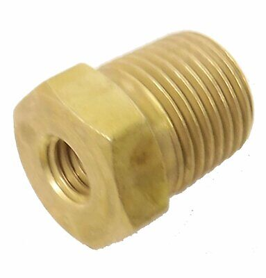 1-8 NPT Male to 10-32 Female Reducer - FITT045 - Air Fitting