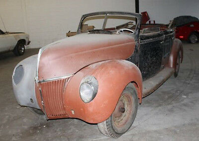 1939 Ford Other Deluxe 1939 Ford Convertible Sedan