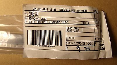 (9)Omron Electronic Components General Purpose Relay DPDT  MPN:G5V-2-H1 DC12