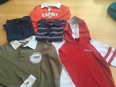 Country Road Shorts, Jumpers X 3 And 2 X Polo Tops  - Size 4