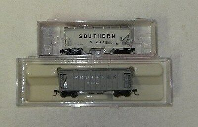 2 x Atlas/InterMountain N Scale Southern Covered Hoppers