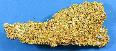 Large Natural Australian Gold Nugget Crystals 190.39 Grams,  6.121 Troy Ounces