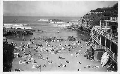 64 Carte Photo Biarritz Plage Du Port-Vieux