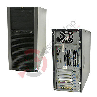 "HP ProLiant ML310 G5p Tower E3120 CPU 3.16GHz 4GB RAM 300GB SAS 3,5"" HDD"
