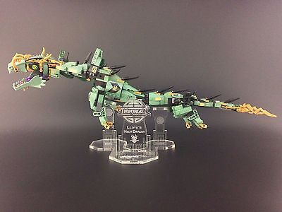 Display stand for LEGO Ninjago Movie: Lloyd's Dragon Mech (70612)