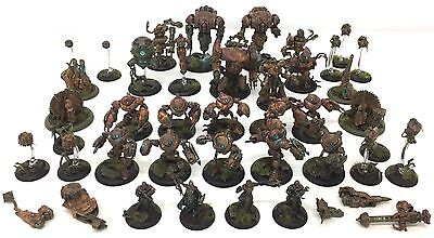 Privateer Press Warmachine Hordes Convergence Of Cyriss Army Fully Painted Based