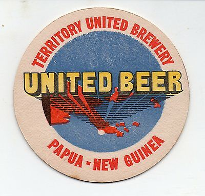 PNG Territory United Brewery Beer Coaster