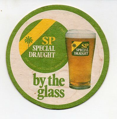 PNG South Pacific Brewery Special Draught Beer Coaster