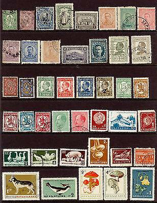 Early Stamps, Bulgaria, Yugoslavia, Romania, Hungary, Poland, USSR