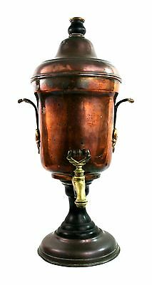 Antique Victorian Copper Samovar Loysel's Patent Hydrostatic Percolator