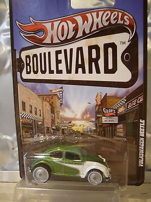 Hot Wheels Volkswagen Beetle,boulevard Series, Real Rider Wheels