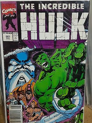 Incredible Hulk (Vol 2) # 381 Very Fine (VFN) Marvel Comics MODERN AGE