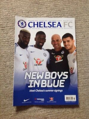 Chelsea Football  Magazine September 2017 Official Club Magazine