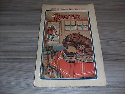 The Rover # 871. December 24Th 1938. British Boys Comic Book. Rare. Dc Thomson.