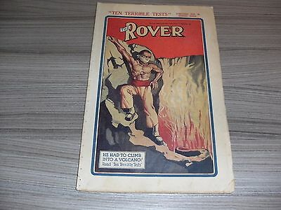 The Rover # 775. February 20Th 1937. British Boys Comic Book. Rare. Dc Thomson.