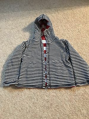 Jojomamanbebe Reversible Hooded  Top / Jacket 18-24 Months