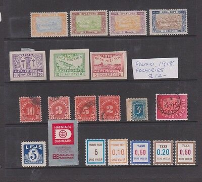 Small Selection Of Old Stamps