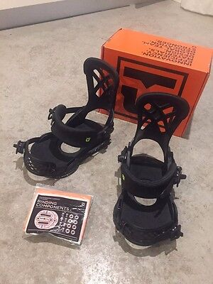 Union Contact Pro Bindings - As new. Size L