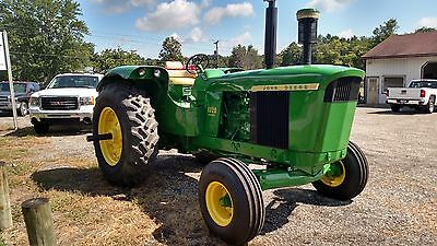1966 John Deere 5020 Diesel Tractor With New Front Tires, Dual Remotes.....Nice!