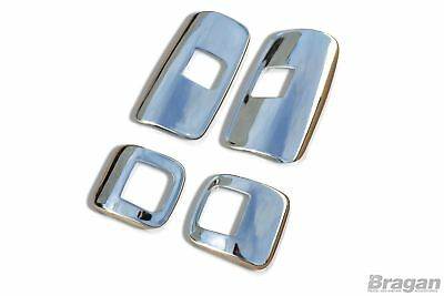 To Fit Mercedes Axor Stainless Steel Mirror Covers Truck Accessories 4 Piece Set