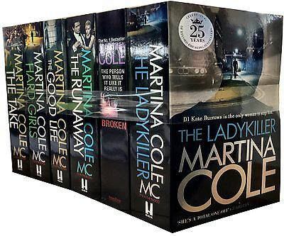 Martina Cole 6 Books Collection Set The Runaway, The Good Life, The Ladykiller