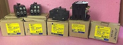 Mixed Lot of (14) Square D Circuit Breakers