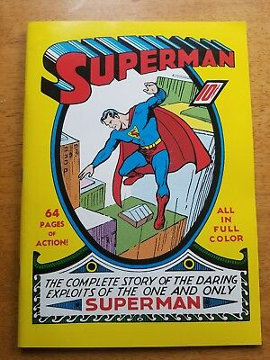 Superman # 1 1939 Golden Age  Ultra Limited Replica Edition, Mid Grade !! ☆☆☆☆☆