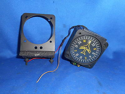 """Vertical Card Compass  2 1/4""""  With On The Dash Mount"""