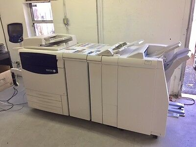 Xerox 700i Digital Color Press With high cap, Finisher and Ex-700i