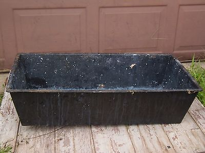 Vintage Cast Iron Trough Sink