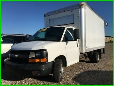 2008 Chevrolet Express Work Van 2008 Chevy Express 3500 16 Foot Box Truck with loading ramp 70k miles