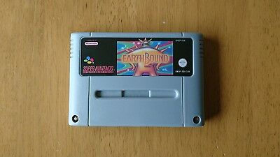 Earthbound REPRODUCTION pal snes Super Nintendo game
