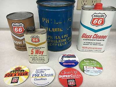Phillips 66 grease,oil,window washer,5-way & buttons