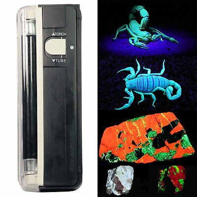 New UV Blacklight Glow Black Light Ultra Violet Pet Urine Stain Detector Effects