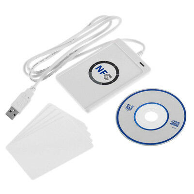 NFC Access Control RFID Contactless Smart Reader & Writer/USB+5 Pcs IC Card