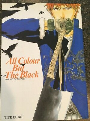 All Colour But The Black - The Art of Bleach Artbook Tite Kubo Anime Manga Book