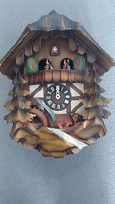 Vintage Swiss Cuckoo Clock No Reserve Auction