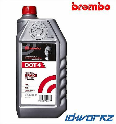 Brembo Premium Fully Synthetic Brake And Clutch Fluid Dot 4 1 Litre